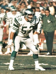 Kevin Reilly in his Eagles playing days.