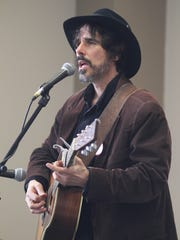 Spook Handy performs during the 9th annual Storytelling Festival at the County College of Morris in Randolph on March 8, 2015.