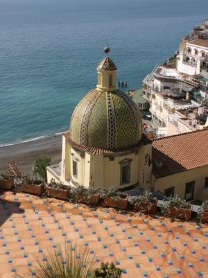 Positano is on Italy's breathtakingliy beautiful Amalfi Coast south of Naples.