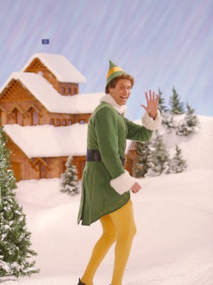 """New Line Productions Riley Sheahan got a few votes to portray Will Farrell?s role in ?Elf.? Will Ferrell as Buddy in """"Elf."""""""