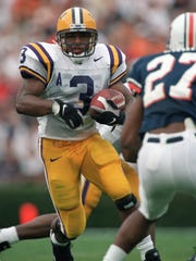 Kevin Faulk, who rushed for 4,557 yards during his