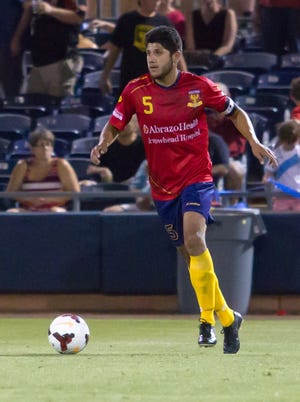 Defender Daniel Antunez is working his way back from an injury that kept him out for three matches.