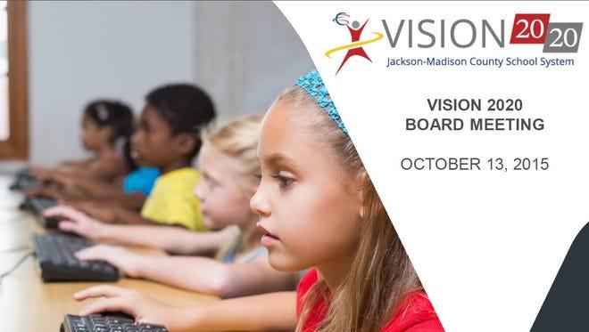 October Vision 2020 presentation