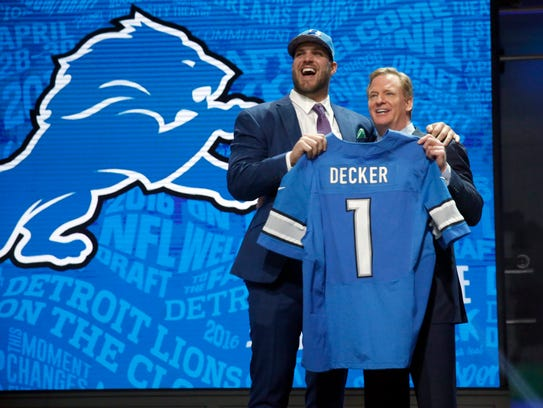 2016, Pick 16: Taylor Decker, offensive tackle, Ohio