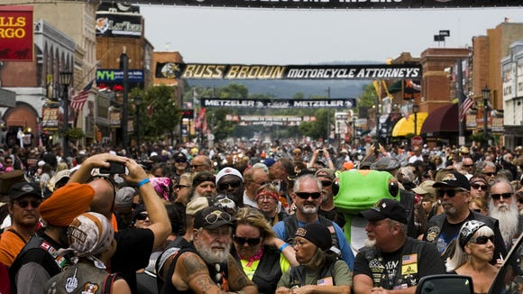 Whitney: Blood, sweat and tears in Sturgis