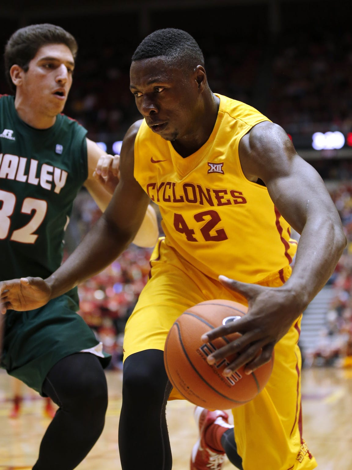 Daniel Edozie is one of the more popular players on the Iowa State Cyclones.