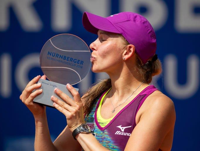 May - Nuremberg Cup: Johanna Larsson