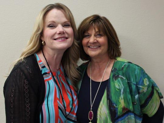 Susan Galle and Linda Hammond, Region XIV Education Service Center