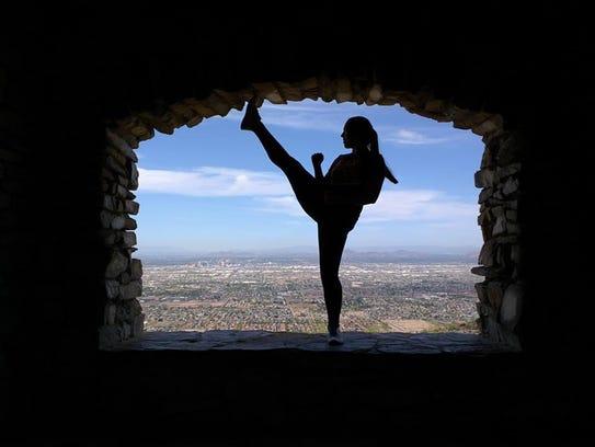 Jenny Quezada desde pequeña descubrió que el Taekwondo