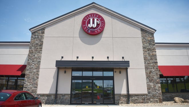 JJ's Wine, Spirit and Cigars owner Tom Slattery talks about the new location at 3000 W 57th st. Thursday, June 14, in Sioux Falls. The new location has a wine room, a craft beer fridge, a humidor cigar cellar, boozy bakery kitchen, an event room, a bar, and an outdoor patio.