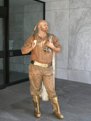 Get your photo taken with the Oregon Pioneer at Oregon's 157th Birthday Celebration on Feb. 13.