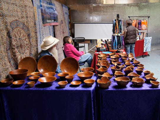The Silver City Food Co-Op held an Artisan Market on