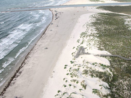 Padre Island JP Luby beach