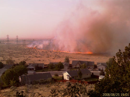 Defensible space is the area between a house and an