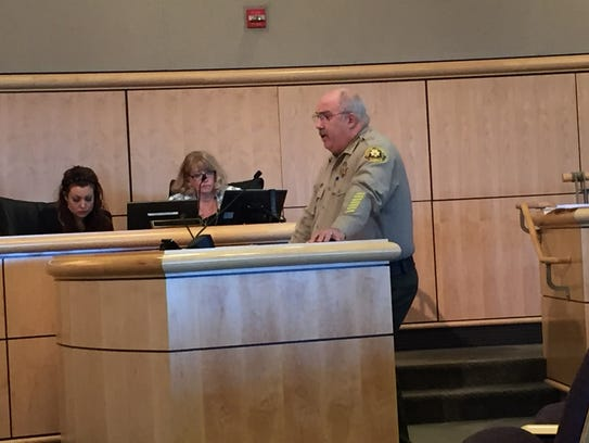 Sheriff Tom Bosenko will discuss the impacts of AB109 and Prop. 47 on county crime and finances at the Feb. 7 meeting.