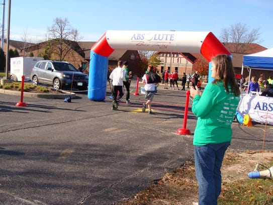 The 5k Candy Cane Run/Walk is only the first event