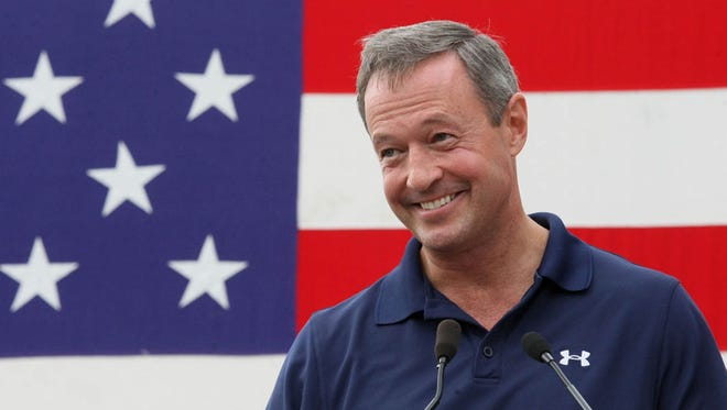 Possible presidential contender Martin O'Malley will make two visits back to Iowa in March and April.