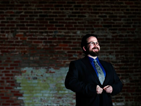 Nathan Shelton, recently named co-artistic director