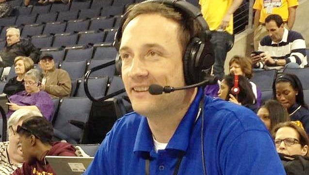 Jeremy Bryant recently won his sixth Lone Star Conference Broadcaster of the Year award.