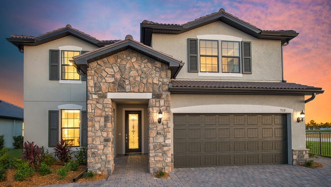 Pulte's Citrus Grove model at Orange Blossom Ranch will be a 2,885-square-foot single-family home with four or five bedrooms and 2.5 to 3 baths.