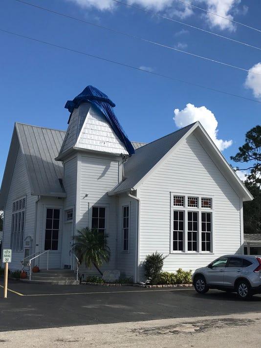 Church sans steeple