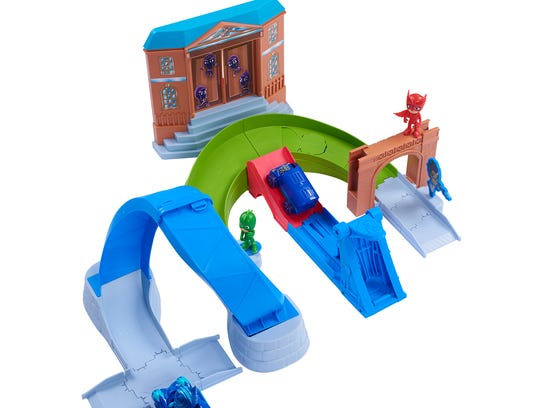PJ Masks Rival Racers Track Playset Ages 3 and older