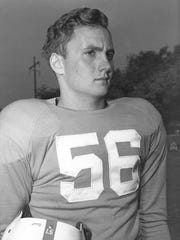 Jim Haslam captained the University of Tennessee football team in 1952.