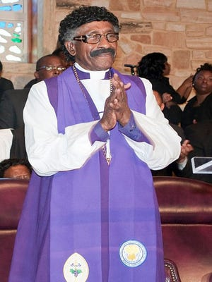 Bishop Johnie C. Williams of the Wisconsin 3rd Ecclesiastical Jurisdiction of the Church of God in Christ and longtime pastor of Holy Tabernacle/Williams Temple in Milwaukee.