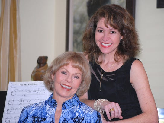 Toni Tennille today with niece and book co-author Caroline