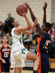 Briarcliff's Jordan Smith (15) is just a freshman, but she's already a defensive force.