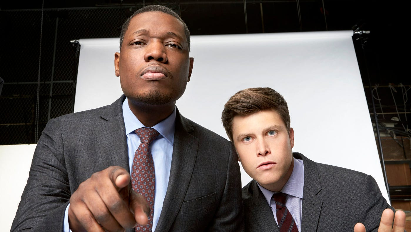 Snl Weekend Update Colin Jost Michael Che To Host Emmys