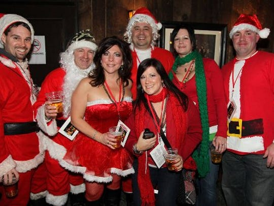 The 16th edition of the Santarchy pub crawl kicks off Saturday at the Gaelic League.