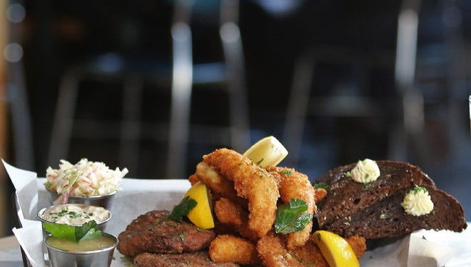 Company Brewing offers a fish fry.