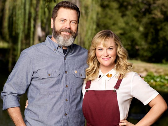 Nick Offerman and Amy Poehler host craft competition