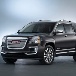For 2016, GMC Terrain Denali gets some changes