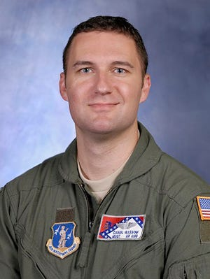 """Master Sgt. Dan """"Bud"""" Wassom II was killed while shielding his 5-year-old daughter when a ferocious tornado tore through Vilonia, Ark., north of Little Rock on Sunday, April 27, 2014."""