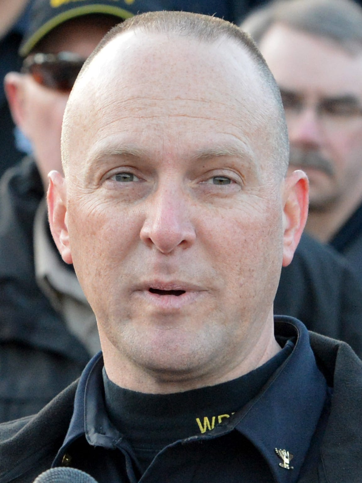 Waynesboro Police Chief Michael Wilhelm in 2014.  Here