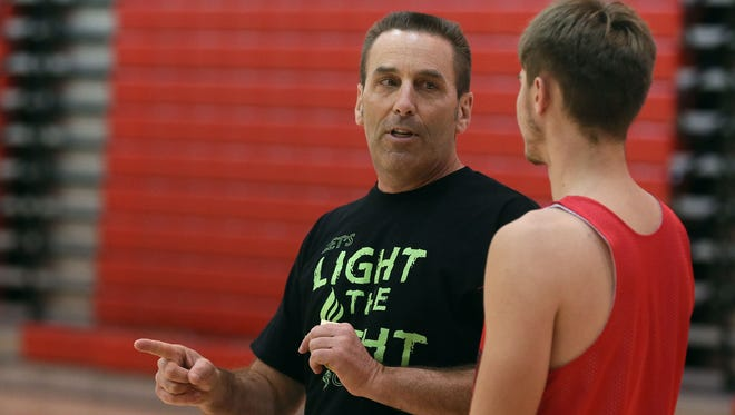 """""""You do take things for granted, until your life changes in five seconds,"""" Harlan basketball coach Mitch Osborn said. """"It slaps you across the face."""""""