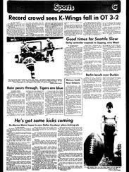 Battle Creek Sports History - Week of April 23, 1977