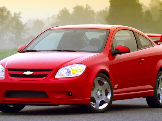 The aggressive styling of the Cobalt SS includes a