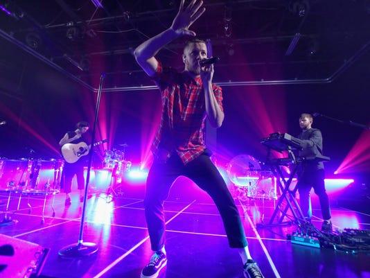 Imagine Dragons Celebrates Evolve Tour and Album Announcement