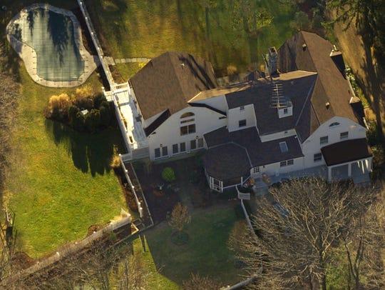 The Clinton's $1.7 million Chappaqua, New York, residence