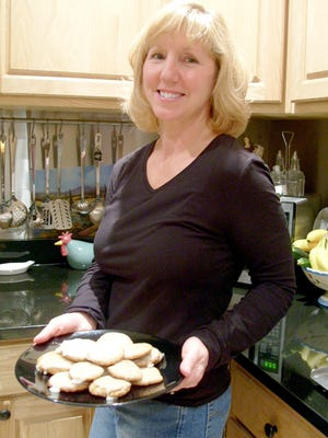 My dear sister Nancy once said that she made these German Christmas cookies because they served to honor the ancestry of her husband, Stephen, and they had a flavor that improved with age.