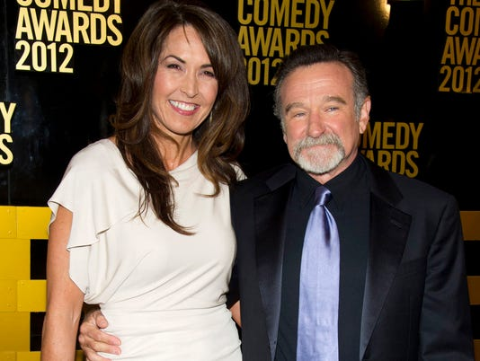 AP PEOPLE-ROBIN WILLIAMS-WIDOW A FILE ENT USA NY