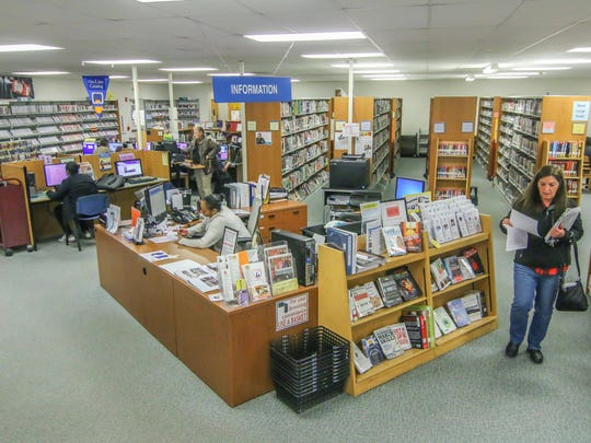 The county says the Elsmere Library is too small and outdated and wants the city to take over its assets.