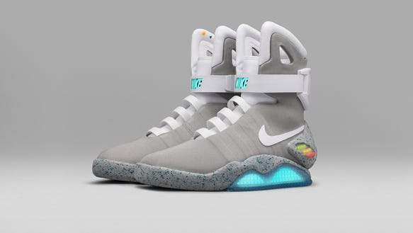 Nike Self Tying Shoes Back To The Future