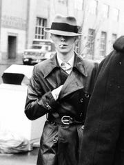 David Bowie heads to Rochester City Court March 25,