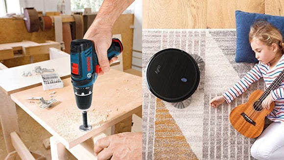 Get new tech to improve your home.