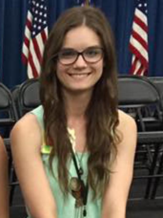Claire Evanoff - Stellar Student