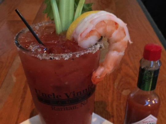 Uncle Vinnie's Shrimp Cocktail mocktail.